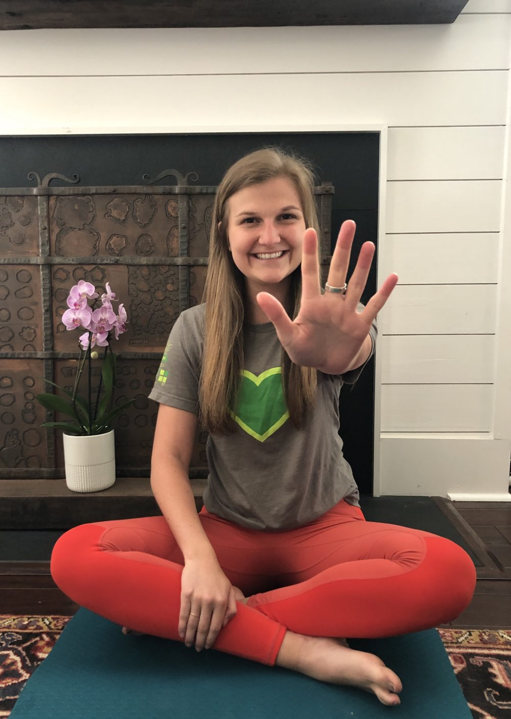 5 Finger Meditation and Green Heart Gratitude