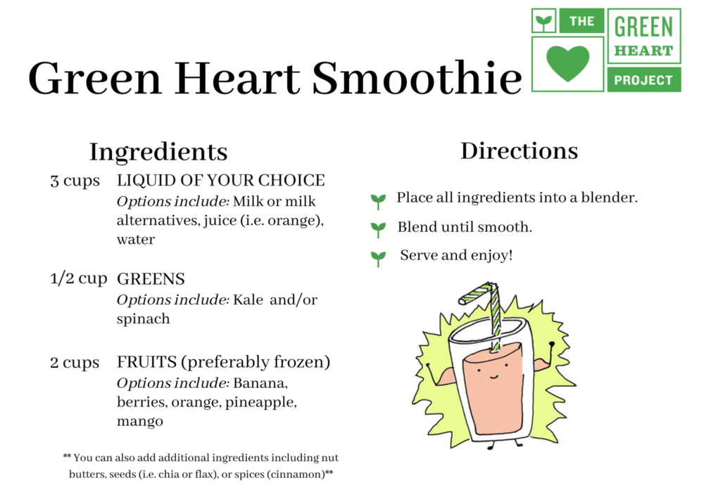 Green Heart Smoothies