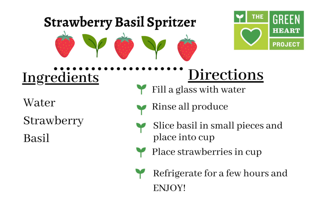 "Summer ""Spritzers"" with Green Heart Grown Produce"